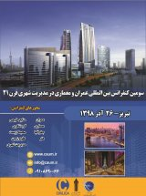 Poster of Third National Conference on Civil and Architecture in Urban Management of the 21st Century