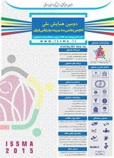 Poster of 2th National Conference of the Scientific Association of Sports Management of Iran