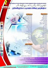 Poster of The 2nd Scientific Conference on New Achievements in Management Studies, Accounting and Economics in Iran