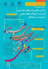Poster of The 5th National Conference on the Theoretical Basis of Visual Arts in Iran