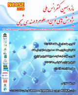 Poster of Eleventh National Conference on New Research in Chemical Science and Engineering