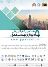 Poster of The 8th National Conference on Sustainable Development in Civil Engineering