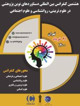 8th International Conference on Modern Research Achievements in Education Science, Psychology and Social Science
