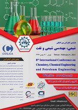 8th International Conference on Chemistry, Chemical Engineering and Petroleum