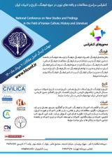 National Conference on New Studies and Findings in the Field of Iranian Culture, History and Literature
